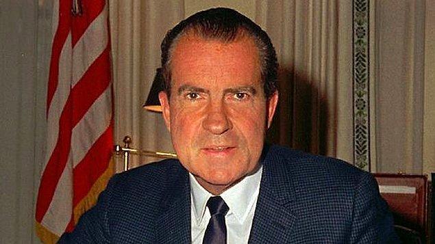 6. ABD tarihinde istifa eden ilk ve son başkan: Richard Nixon