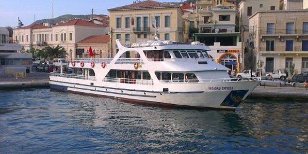 Türkiye'den feribotla sadece 1 saat yolculuk yapıp ulaşabilirsiniz