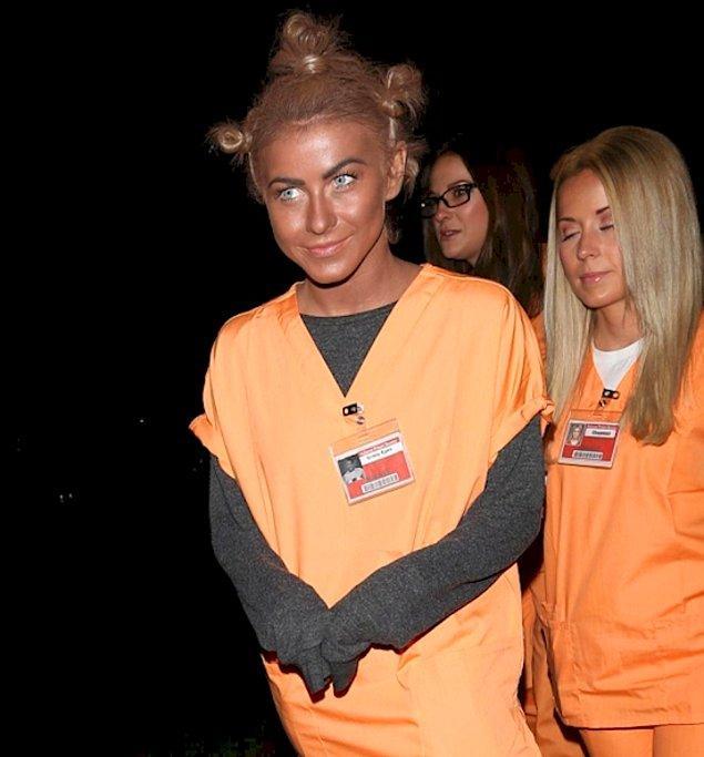 Джулианна Хаф ошиблась в выборе костюма на Хэллоуин