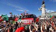 Portekizli Futbolcular Ülkede Coşkuyla Karşılandı