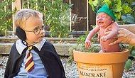 Кричащая Мандрагора и Гарри Поттер: фотосессия двух братьев