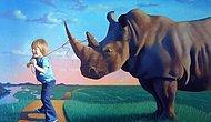 Ressam Jim Warren'in Sizi Alıp Başka Dünyalara Götürecek 16 Şahane Eseri