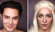 Чудеса мейкапа: как превратиться в кхалиси, используя лишь кисть для макияжа