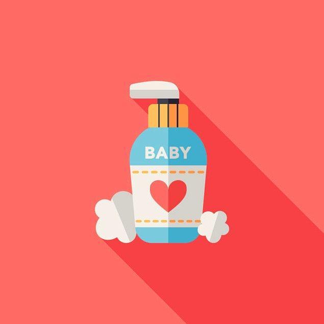 2. Bebe yağı genital bölgelere sürülmez, sürülürse sonradan yakar.