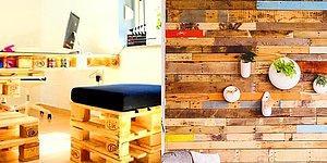 Gözlerden Kalp Çıkartan Bir Ofis Dekorasyon Trendi: Ham Ahşap ve Hatta Bildiğimiz Palet!