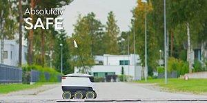 Evin Küçük Çocukları Yaşadı: Teslimat Robotu Starship ile Tanışın!