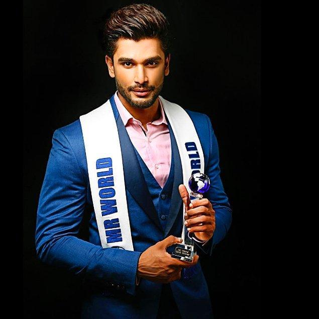 Peki, Mr. World yarışmasını yakışıklılığı ile sallayan Rohit Khandelwal kimdir?