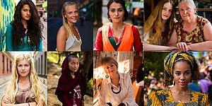 """Güzelliği Her Yerde Arayan """"Güzellik Atlası"""" Projesinde Yer Alan Türkiye'den Kadınlar"""