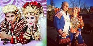 Beyaz Gelinlik Hariç: Dünyanın Dört Bir Yanından 32 Geleneksel Düğün Kıyafeti