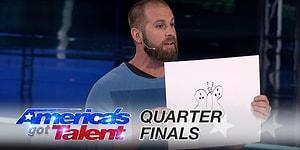 Amerikan Yetenek Yarışmasında Jürinin Aklını Alan NFL Oyuncusundan Muhteşem Performans