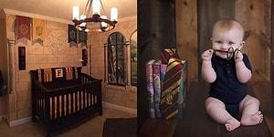 Bebekleri İçin 'Harry Potter' Temalı Harika Bir Oda Hazırlayan Aile