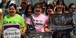 Meksika'da Düşük Yapan Kadına 50 Yıl Hapis