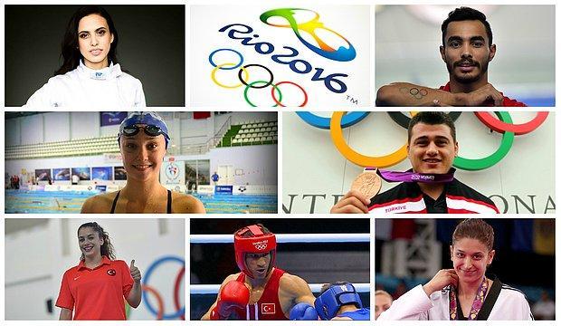 2016 Rio Olimpiyatları'nda Madalya Mücadelesi Verecek 103 Sporcumuz