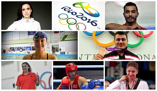 İşte  Türkiye'den olimpiyatlarda mücadele edecek 103 sporcumuz, madalya umudumuz...