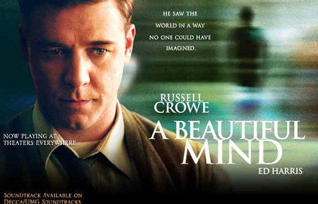 6. A Beautiful Mind (Akıl Oyunları), 2001