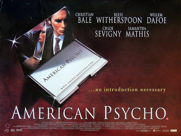 22. American Psycho (Amerikan Sapığı), 2000