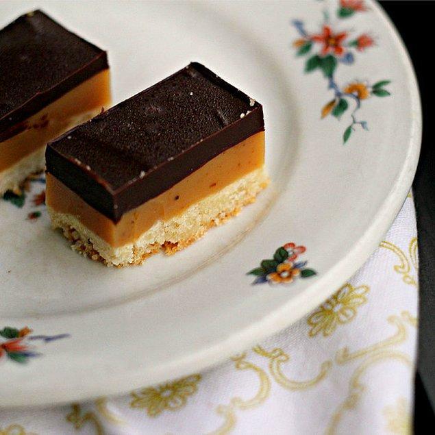 7. Kendi karamelli bisküvilerinizi yapmak aslında çok kolay!