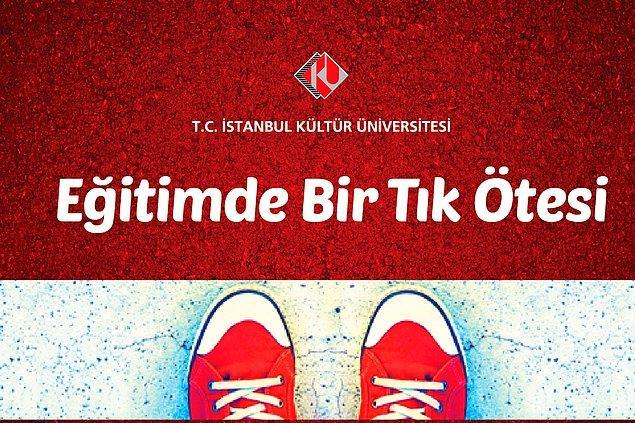 İyi bir üniversitenin adresi kısa ve nettir; İstanbul Kültür Üniversitesi