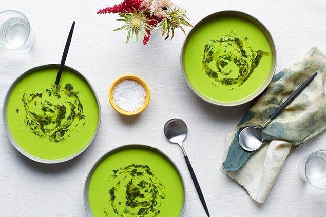 12. Soğuk çorba yaz günlerinin kurtarıcısı!
