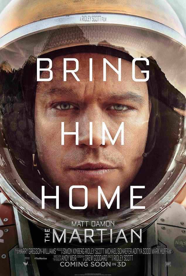 11. Marslı - The Martian (2015)