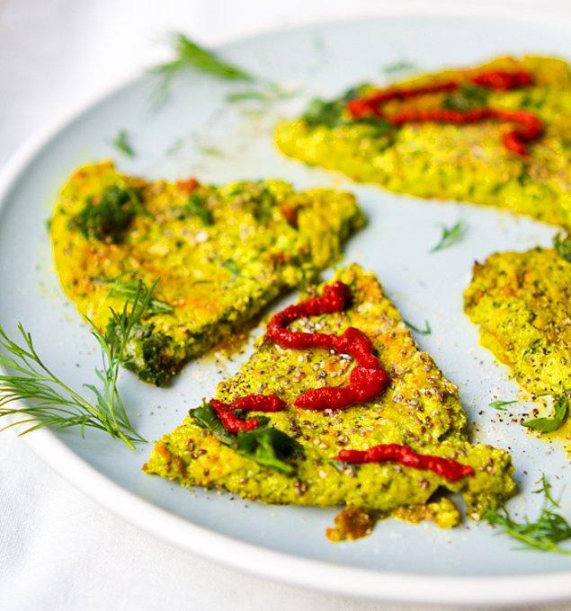 6. Chia tohumlu omlet