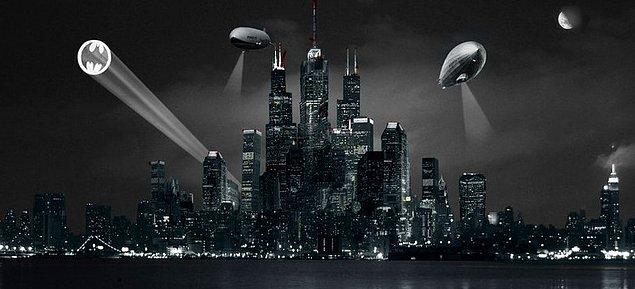 8. Gotham Şehri - Batman
