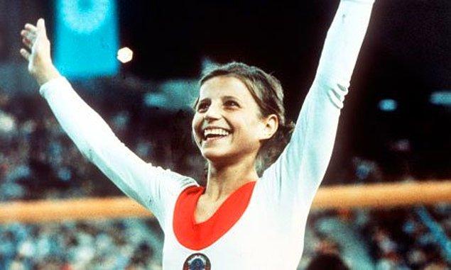 3. Olga Korbut'un Jimnastiğin Alfabesini Baştan Yazması