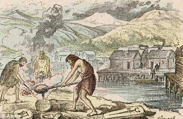 Bilim insanları bunun ölüm sonrası gerçekleştirilen bir ritüelin sonucu olabileceğini söylüyor.