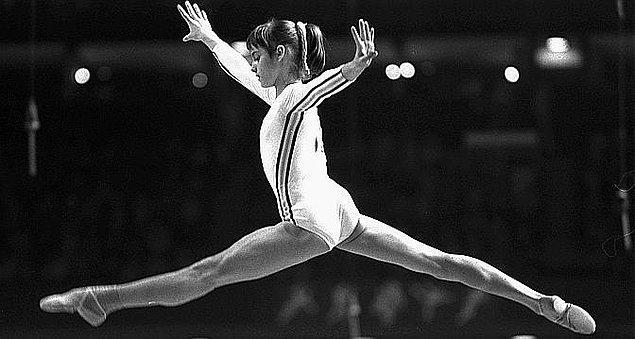 13. Nadia Comaneci'nin Jimnastikte Kusursuzluğun Simgesi Olması