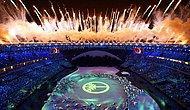 2016 Rio Olimpiyat Oyunları Muhteşem Görüntülerle Başladı