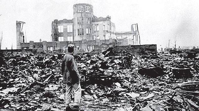 7. Nagazaki yerine aslında bombalanması planan yer Kyoto idi.