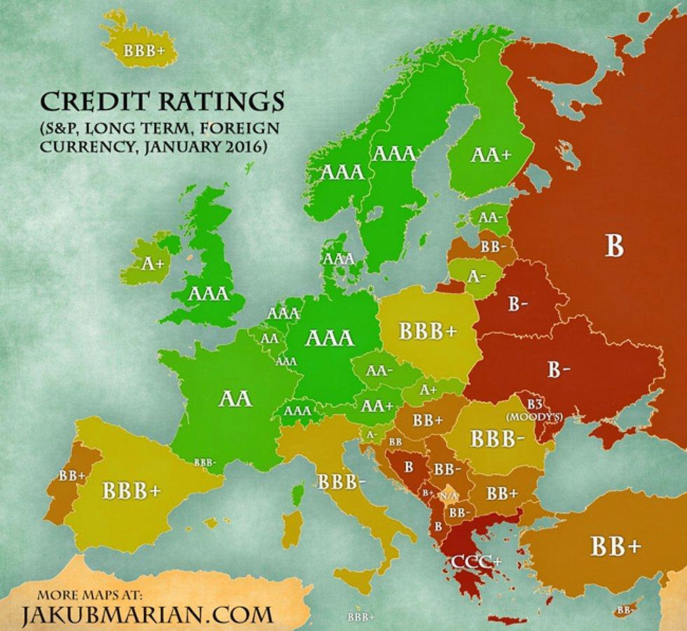 Ülkelerin Kredi Notları