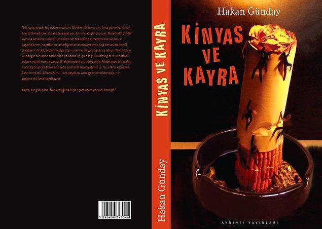 """13. """"Kinyas ve Kayra"""", (2000) Hakan Günday"""