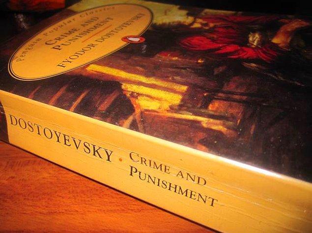 """15. """"Suç ve Ceza"""" (1867) Fyodor Mihayloviç Dostoyevski"""