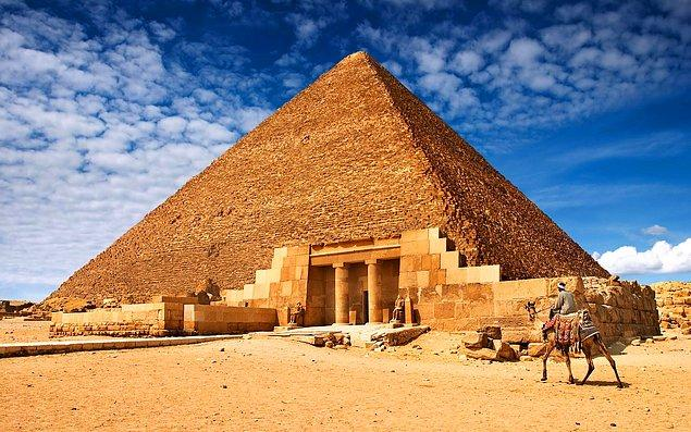 21. Yıllardır İnsanların Merak Ettiği Soru: Mısır Piramitleri Nasıl İnşa Edildi?