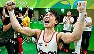 Rio 2016 Olimpiyat Atletlerinin Altın Madalya Sevincini Yakalamış 19 Duygu Dolu Fotoğraf