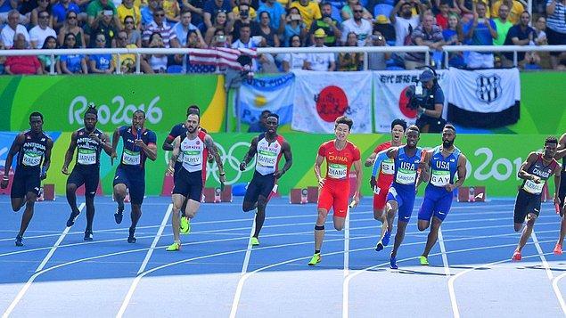 4x100 bayrak yarışında finale kalamadık
