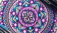 Görenlerin gözlerine inanamayacağı Mandala Sanatı