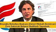 Beyoğlu Belediye Başkanı Ahmet Misbah Demircan'ı Zora Sokacak Belgeyi Redhack Yayınladı..