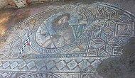 Adana'daki Antik Kentte 'Poseidon' Tasvirli Mozaik Bulundu