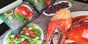 Dini İmanı Yemek Olanların Anlayacağı Türden Yemek Kılıklı 12 Çeyizlik Eşya