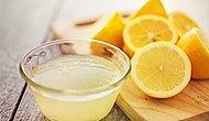 Yüzünüz Ekşimesin! Sos Olmak Dışında İşinize Yarayacak 12 Limon Marifeti