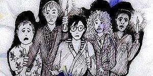 J.K. Rowling'in Harry Potter Çizimleri Ortaya Çıktı!