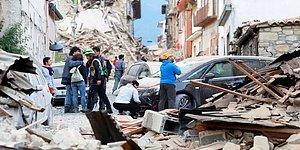 İtalya 6.2 ile Sarsıldı: Can Kaybı 120'ye Yükseldi...