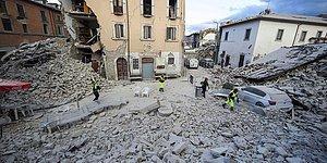 İtalya 6.2 ile Sarsıldı: Can Kaybı 247'ye Yükseldi...