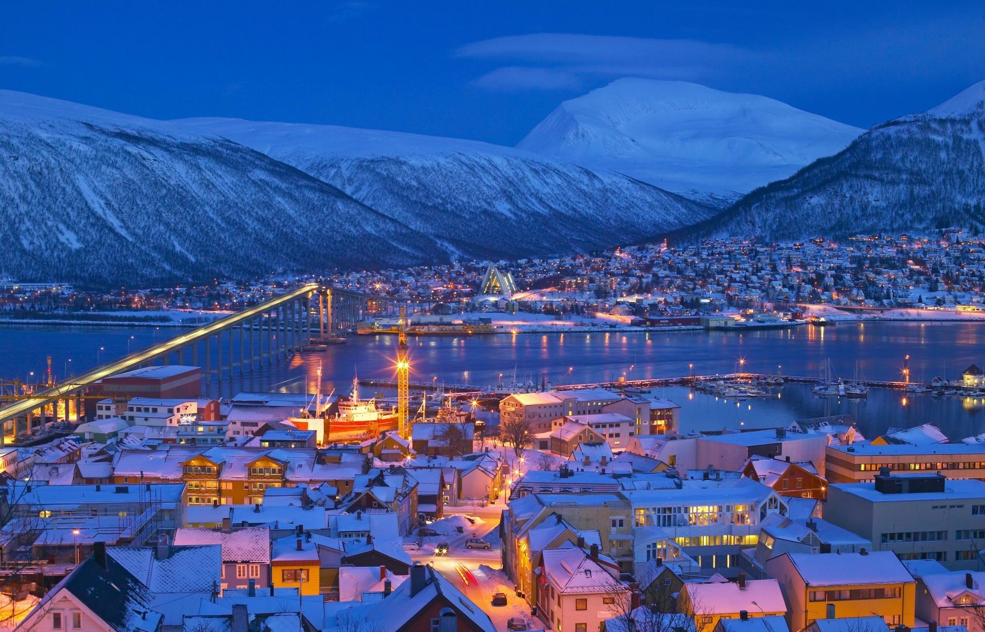 Norveçteki kış tatilleri