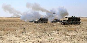 Cerablus Operasyonu: TSK, YPG'yi Vurdu