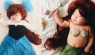 Minik Kızı Uyurken Onu Ünlü Karakterlere Dönüştüren Maharetli Anneden 16 Kostüm!