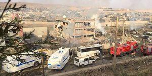 Türkiye Güne Terör Saldırısıyla Uyandı: Cizre'de Polise Bomba Yüklü Araçla Saldırı