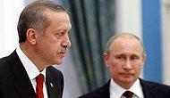 Erdoğan Putin'le 'Fırat Kalkanı' Harekâtını Konuştu